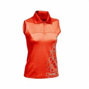 Tricou sport femei HI-TEC Motueka Wo s, Rosu