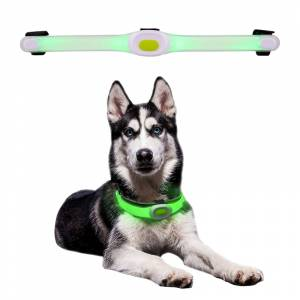 Zgarda luminoasa LED Light Petsaber Maxi