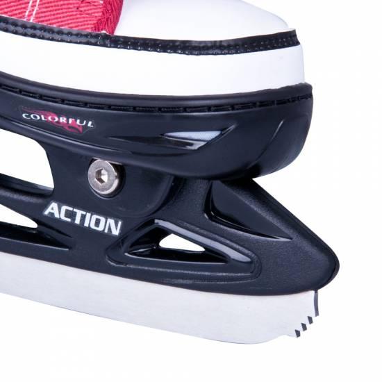 Role / patine reglabile ACTION Gondo 2in1 Fete