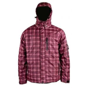 Jacheta de iarna HI-TEC Maron, Rosu