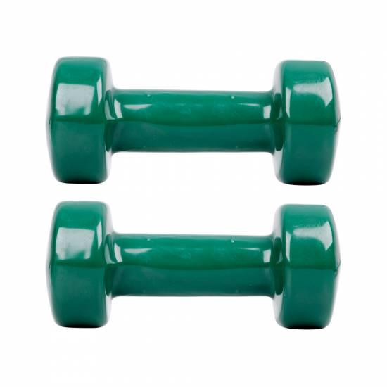Gantera vinil inSPORTline set - 2 x 3 kg