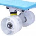 Penny Board WORKER Sturgy 22 Light Up Wheels, Albastru
