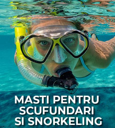 Masti pentru scufundari si snorkeling