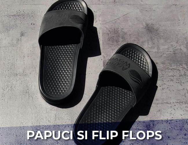 Papuci si flip flops