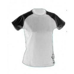 Tricou sport femei HI-TEC Hapua Wo s, Alb