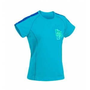 Tricou sport femei HI-TEC Moheda Wos, Albastru