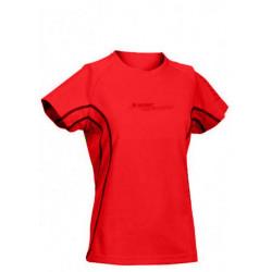 Tricou sport femei HI-TEC Cliona Wos, Rosu