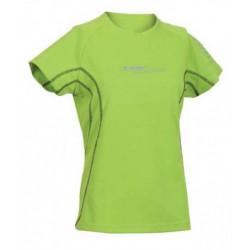 Tricou sport femei HI-TEC Cliona Wos, Verde