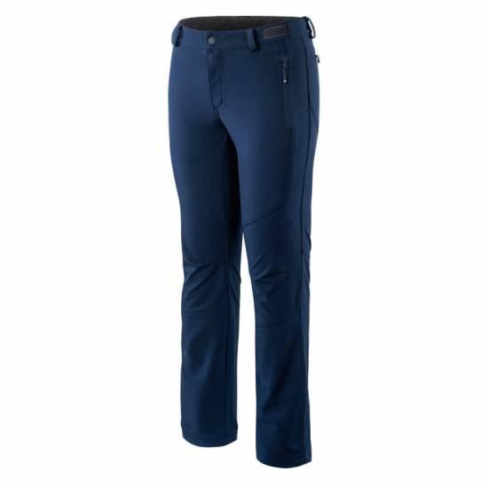 Pantaloni softshell dama HI-TEC Lady Elda, Albastru