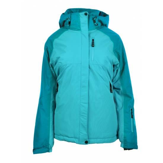 Jacheta de iarna femei HI-TEC Lady Gigi, Petrol