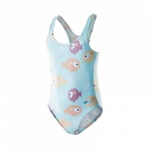 Costum de baie pentru copii AQUAWAVE Sea girl, Albastru