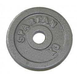 Disc greutati din otel SPARTAN 2 x 1,25 kg / 30 mm