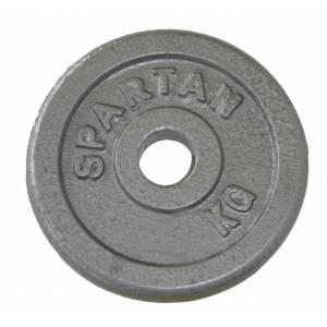Disc greutati din otel SPARTAN 2 x 0,5 kg / 30 mm