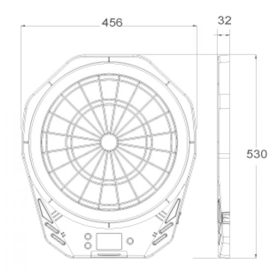 Електронен дартс ECHOWELL AC 100