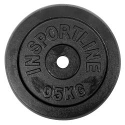 Disc greutate din otel inSPORTline 0.5 кg