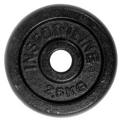 Disc greutate din otel inSPORTline 2,5 kg
