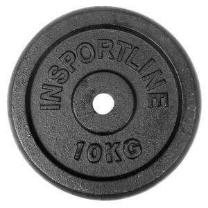Disc greutate din otel inSPORTline 10 kg