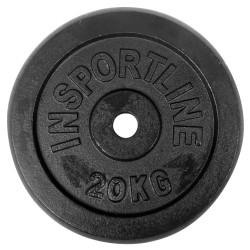 Disc greutate din otel inSPORTline 20 kg