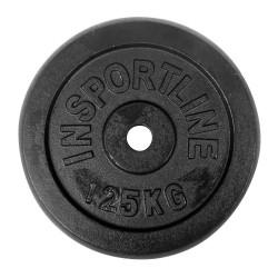 Disc greutate din otel inSPORTline 1,25 kg