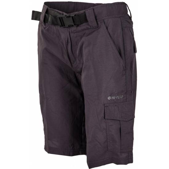 Pantalonii scurti femei HI-TEC Lady Vismo 1/2, Anthracite