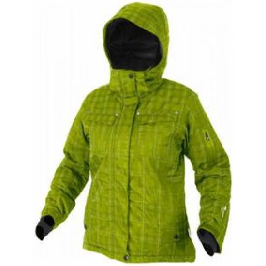 Jacheta sport iarna HI-TEC Nanami Wos, Verde