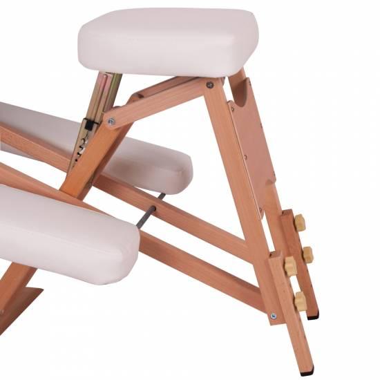 Scaunul de lemn pentru masaj inSPORTline Massy