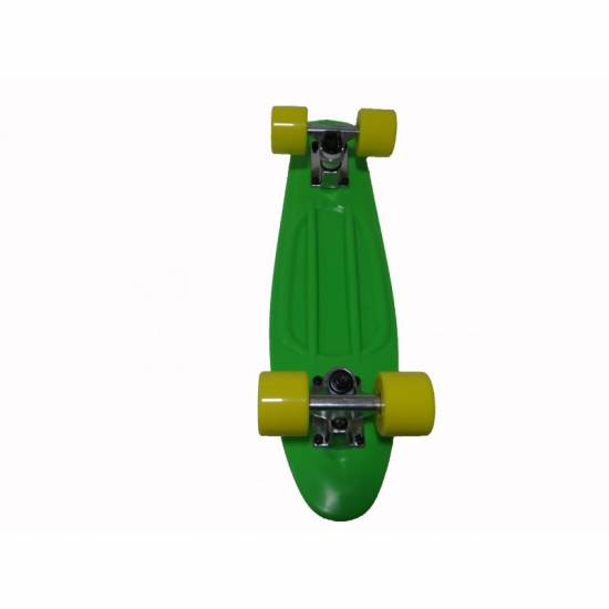 Penny Board SPARTAN Plastic Board 22.5, Verde
