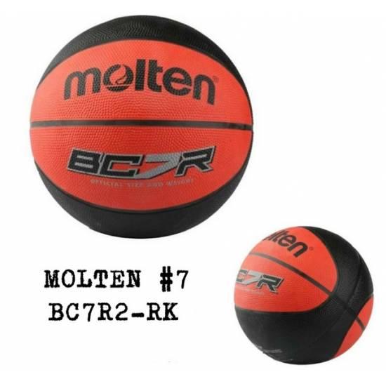 Minge de baschet MOLTEN BC7R2, Rosu/Negru