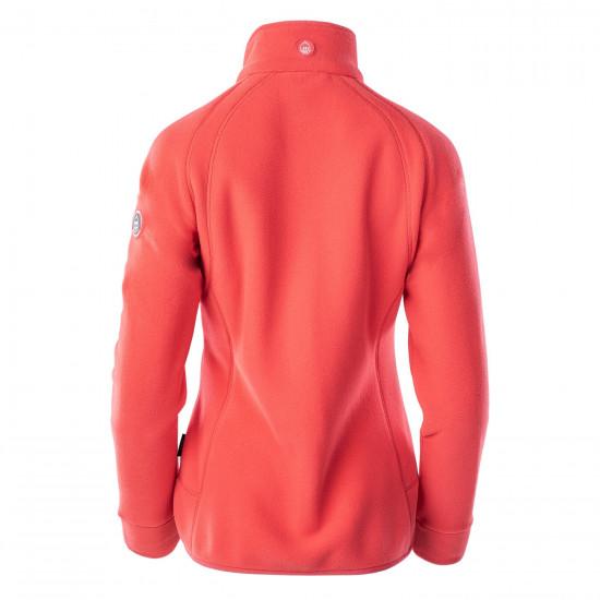 Bluza polar pentru femei ELBRUS Rivoli 190 Polartec, Rosu