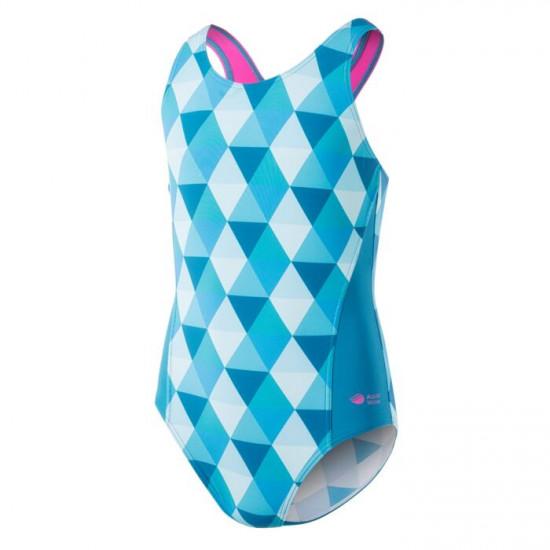Costum de baie pentru fete AQUAWAVE Binita JR, Turcoaz
