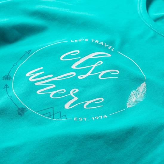 Tricou pentru femei HI-TEC Lady Elsea, Albastru