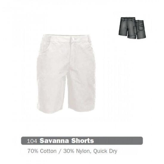 Pantaloni scurti femei HI-TEC Shorts Savanna, Alb