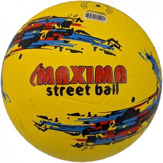 Minge de fotbal din cauciuc MAXIMA Street, Marimea 5