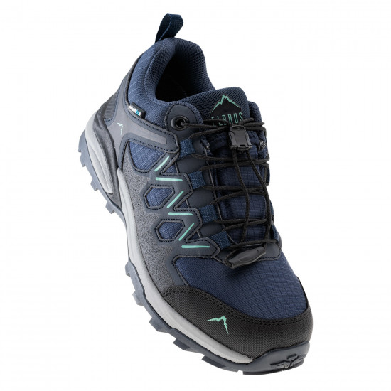 Pantofi de trekking pentru femei ELBRUS Euberen Low WP Wo s, Albastru/Inchis