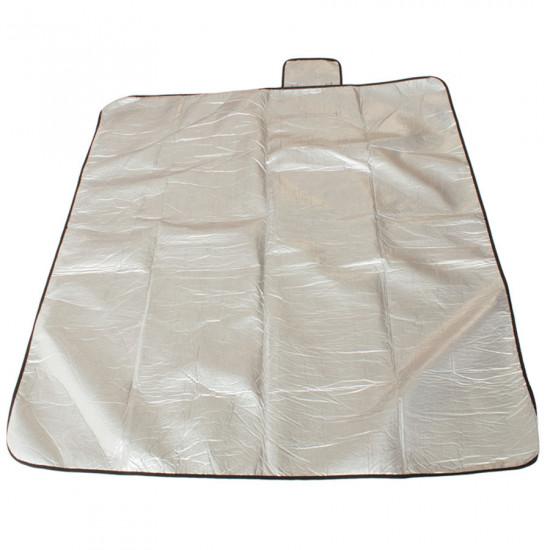 Patura de picnic YATE cu folie de aluminiu, 150 x 130 cm