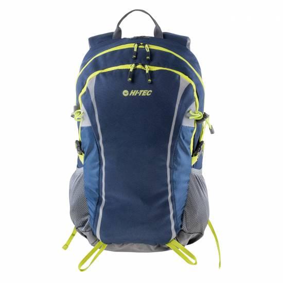 Rucsac HI-TEC Columbo 30L, Albastru / Gri / Verde