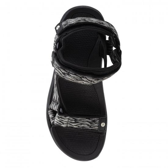 Sandale pentru barbati HI-TEC Hanary, Negru / Gri