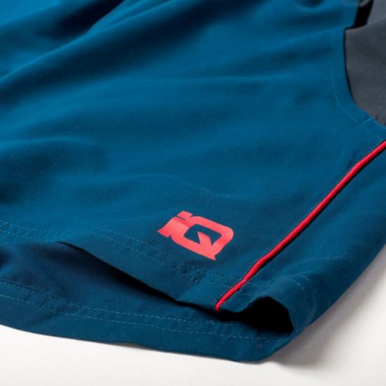 Pantaloni scurti IQ Silmo, Albastru/Rosu