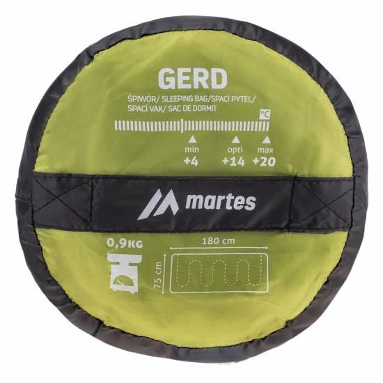 Sac de dormit MARTES Gerd, Verde