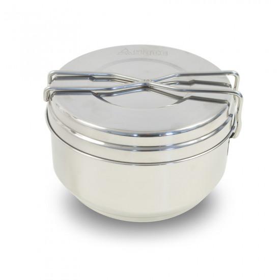 Vase de gatit din inox YATE Pot, 3 piese