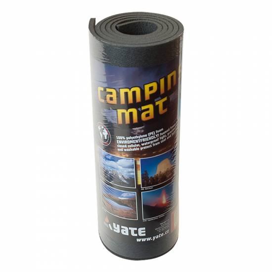 Saltea monostrat camping YATE 8 mm, gri