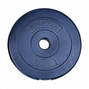 Disc greutati din ciment SPARTAN Set de 2 x 1,25 kg / 30mm