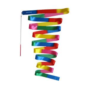 Panglica gimnastica MAXIMA 6 m x 5 cm multicolor (200733)
