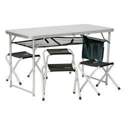Set masa si patru scaune pliante VANGO