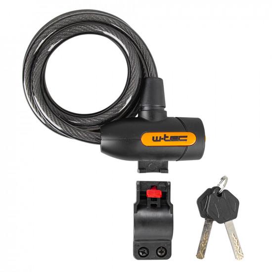 Dispozitiv de blocare a bicicletelor W-TEC Evakko 10x1800mm
