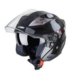 Casca moto W-TEC YM-627, Negru/Bronz