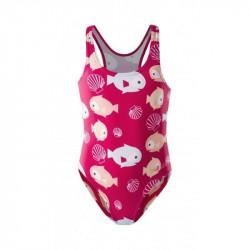 Costum de baie pentru fete AQUAWAVE Sea Girl, Roz