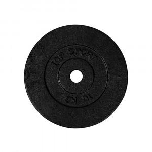 Disc greutate din otel TOP SPORT Castyr 10 kg