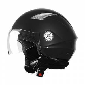 Casca scuter WORKER V518 - negru
