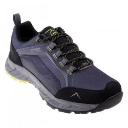 Pantofi turism pentru barbati ELBRUS Embawa Low WP, Gri/Negru/Lime